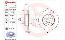 2x BREMBO Discos de freno delanteros Pleno 262mm 08.7814.11