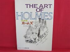The art of Holmes Sherlock Hound Ghibli the art series art book
