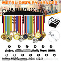 Acryl Personalised Medaillenhalter Aufhänger Display Laufsport Schwimmsport