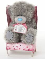 """Me To You 6"""" Tatty Teddy Collectors Plush Bear Sat In Chair - Mum"""