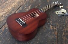 Left Handed Makala kala MK-S Soprano Ukulele Fitted With Aquila Strings