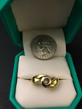 Ladies 18kt Two Tone Gold Remount Ring