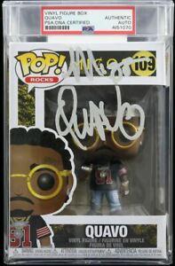 Quavo Huncho Signed Funko Pop #109 Migos PSA/DNA Encapsulated Autographed