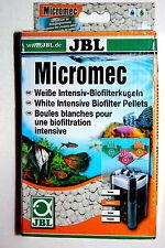 Jbl micromec * Blanco Intenso Bio-filter Bolas * primera clase franqueo
