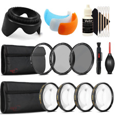 58mm Close UP Macro Kit with Accessory Bundle for Canon EOS Rebel T6 and T7i