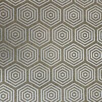 Natural Mica Vermiculite Hexagon gray Silver metallic gold sparkles Wallpaper 3D