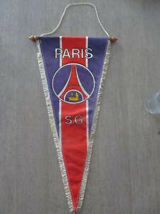 51cm rare ancien FANION PSG PARIS SAINT ST GERMAIN France no mbappe no maillot