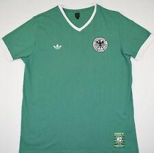 Alemania Occidental Camisa De Fútbol Adidas Originals (tamaño L)