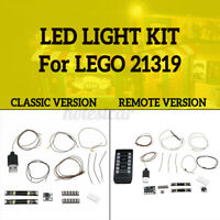 LED Light Up Kit For LEGO 21319 Ideas Series Central Perk Lighting Building Sets