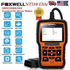 For Hyundai Kia Auto OBD2 SRS ABS TPMS Code Reader Full System Vehicle Scanner