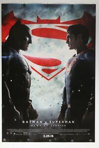 "Batman v Superman: Dawn of Justice  2016 DS Original Movie Poster 27"" x 40"""