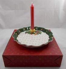 Villeroy & and Boch TOY'S FANTASY bowl w/ candleholder 27cm NEW BOXED Christmas
