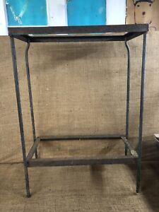 Vintage 10 Gallon Wrought Iron Aquarium Stand