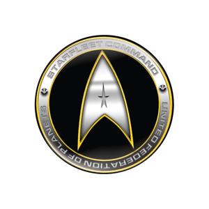 "Star Fleet Command - Star Trek Insignia Badge -  32mm (Small 1.25"" Button Badge)"