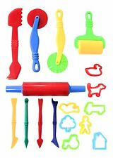 Play Dough Tools Play Set For Kids Set Of 17 Pastry Clay Pizza Doh Children Toys