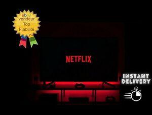  360Jours netflix ULTRA HD 4écrans 4K / 12MOIS 100% fiable /ENVOI INSTANT