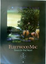 Rare Fleetwood Mac Tango In Night 1987 Vintage Music Record Store Promo Poster