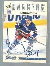 2012-13 Classics Signatures Autographs #59 Nick Kypreos (ref37913)