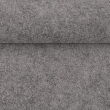 Filz Taschenfilz 4mm, 0,5 lfm x 102 cm breit (hellgrau meliert) (9,61 EUR/m²)
