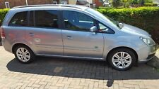 Vauxhall Zafira Active 1.6 petrol 7 seater silver/blue