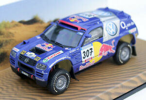 VW Race Touareg 1 Rallye Dakar 2005 #307,Vw-Werbemodell From MINICHAMPS M.1 :