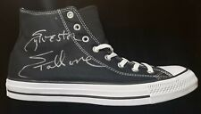 Sylvester Stallone Rocky Balboa Signed Replica Black Converse Sneaker COA (1)