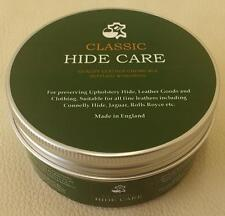NORSOL Classic Hide Care, leather nourishing cream, vintage upholstery