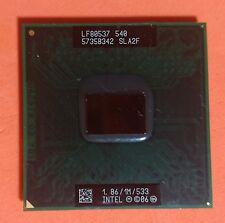 Procesador Intel Celeron M Processor 540 SLA2F (1M, 1.86GHz, 533MHz)