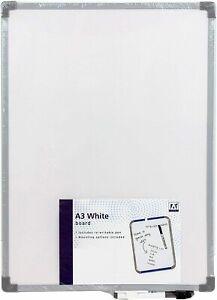A3 White Board w/ re-writable pen Office School Home Kids