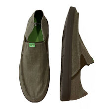 Sanuk Pick Pocket Slip On Men's Sneakers Brindle US 14 /UK 13 / EU 47