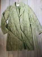 Women's MERONA Floral Tapestry Vintage inspired Women's Coat /Jacket -M