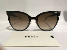 085740af19794 FENDI FF 0133 S NPOJD Brown Blue Sunglasses Made in Italy Authentic COA