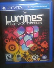 Lumines Playstation Ps vita Rare game Fun game! In great condition Complete cib