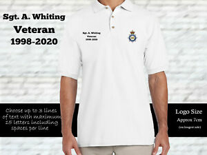 MOD Police Personalised Polo Shirt