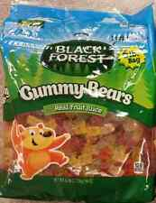 6 Lb Bag Black Forest Gummy Bears Candy Bulk Real Fruit Gummies Free Shipping