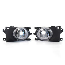 Pair Front Fog Light without Bulbs Replacement Kit for BMW E39 5-Series 99-04