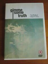 DVD JOHN LENNON: GIMME SOME TRUTH (2000) The Beatles. Como nuevo