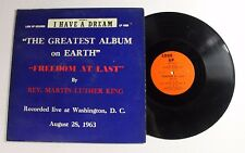 REV MARTIN LUTHER KING Freedom At Last LP Look Up Rec. LP-1000 US VG+ ORIG 0H