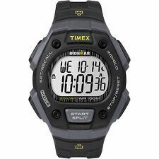 Timex TW5M09500, Men's Ironman 30-Lap Resin Watch, Alarm, Indiglo, Chronograph