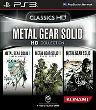 METAL GEAR SOLID HD COLLECTION PS3 EN PEGI EU - Game  YCVG The Cheap Fast Free