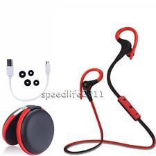 Wireless Sport Stereo Sweatproof Bluetooth Earphone Headphone Headset For Phones