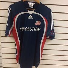 New England Revolution Wells Thompson Soccer Jersey Size Medium Adidas