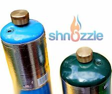 2 X SOLID BRASS Caps 1 LB Propane Bottle Cap Refill Coupler Protect Disposable