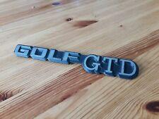insigne vw golf 2 II GTD - GTI