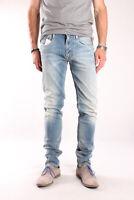 Neu Replay M914 419 734 010 Anbass, Herren Jeans, Hose, Denim, Blau, Trousers
