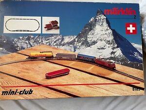 Märklin mini club 8185 Originalkarton Leichte Gebrauchsspuren kein Fehlteile