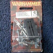 1997 morts-vivants Wight Standard porteur sur Squelette Steed 2.2 WARHAMMER CITADEL En parfait état, dans sa boîte GW