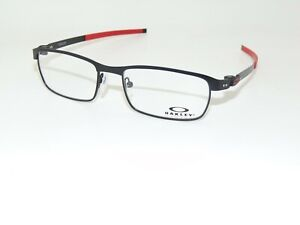 OAKLEY TINCUP OX3184-0952 Satin Black/Red 52mm Rx Authentic Eyeglasses