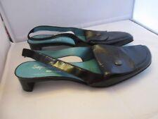 Magnifique Stéphane Gontard France Sandales chaussures en cuir Pointure 38,5