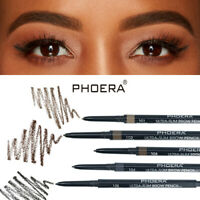 PHOERA Eyebrow Pencil Waterproof Ultra Thin Tip Pen Eye brow Brush Tattoo Pen